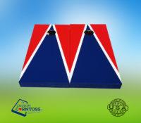 3 Color Triangle to the Top cornhole set