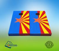 Arizona Flag cornhole set