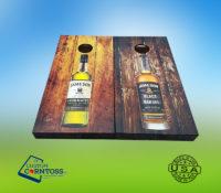 Jameson Whiskey Cornhole Corntoss Bags Wrap Black Barrel Caskmates Quality Weatherproof Gift
