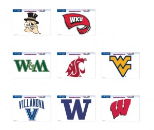 NCAA Football Decals 05