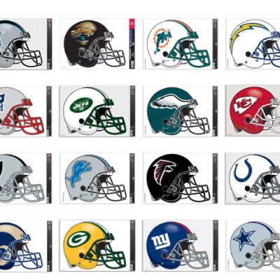 NFL Decals for Cornhole Boards