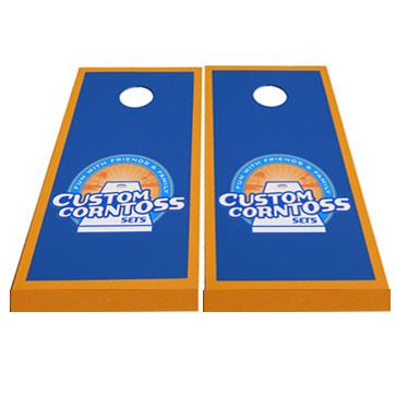 Custom Corntoss Logo Cornhole Board