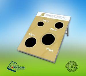 Cornhole 4-Hole Board First Ficosa