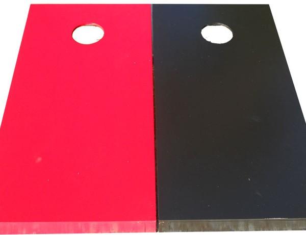 cornhole boards solid color