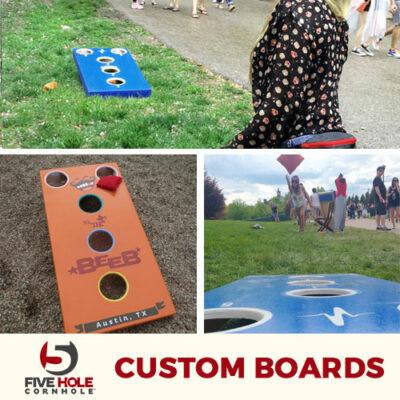 5 Hole Custom Boards